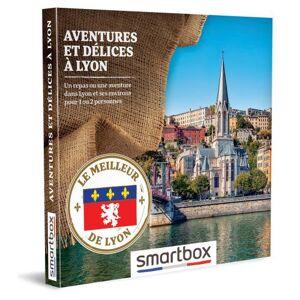 SmartBox Coffret cadeau Smartbox Aventures et délices à Lyon - Coffret cadeau - Publicité
