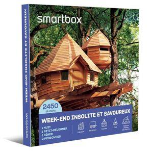 SmartBox Coffret cadeau SmartBox Week-end insolite et savoureux - Coffret cadeau - Publicité