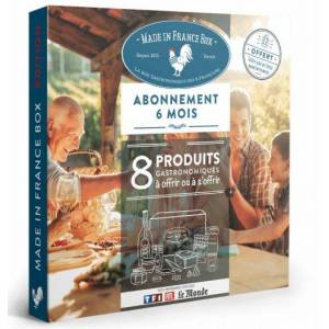 Made In France Box Coffret cadeau Made In France Box produits du terroir abonnement 6 mois - Publicité