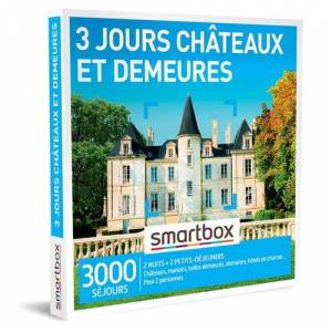 SmartBox Coffret cadeau Smartbox 3 jours châteaux et demeures - Coffret cadeau - Publicité