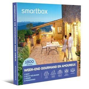 SmartBox Coffret cadeau Smartbox Week-end gourmand en amoureux - Coffret cadeau - Publicité
