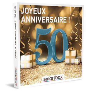 SmartBox Coffret cadeau Smartbox Joyeux anniversaire ! 50 ans - Coffret cadeau - Publicité