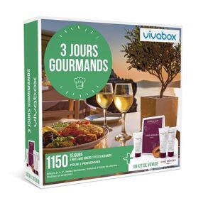 Vivabox Coffret cadeau Vivabox 3 jours Gourmands - Publicité