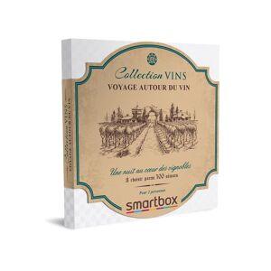 SmartBox Coffret cadeau Smartbox Voyage autour du vin - Coffret cadeau - Publicité