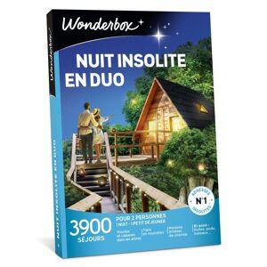 Wonderbox Coffret cadeaux Wonderbox Nuit Insolite en duo - Coffret cadeau - Publicité
