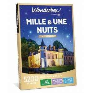 Wonderbox Coffret cadeaux Wonderbox Mille et une nuits de Charme - Coffret cadeau - Publicité