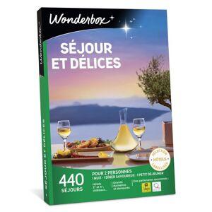 Wonderbox Coffret cadeaux Wonderbox Séjours et délices - Coffret cadeau - Publicité