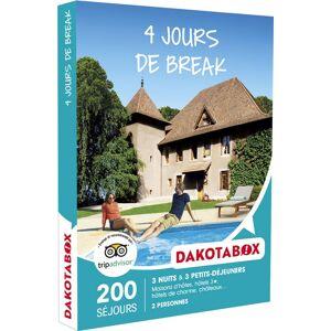 Dakotabox Coffret cadeau Dakotabok 4 jours de break - Coffret cadeau - Publicité