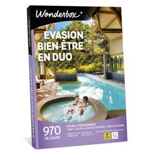Wonderbox Coffret cadeaux Wonderbox Evasion bien-être en duo - Coffret cadeau - Publicité