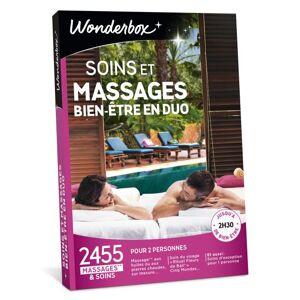 Wonderbox Coffret cadeau Wonderbox Soins et massages bien-être en duo - Coffret cadeau - Publicité