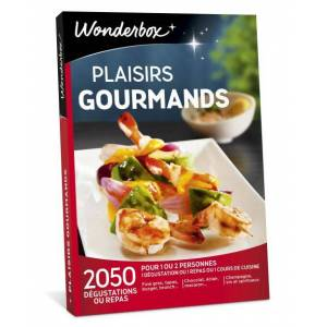 Wonderbox Coffret cadeau Wonderbox Plaisirs gourmands - Coffret cadeau - Publicité