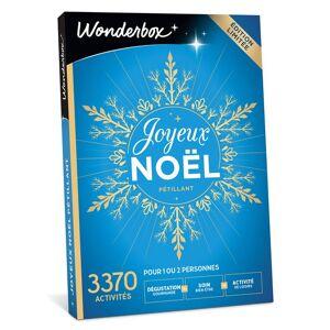 Wonderbox Coffret cadeau Wonderbox Joyeux Noël Pétillant - Coffret cadeau - Publicité