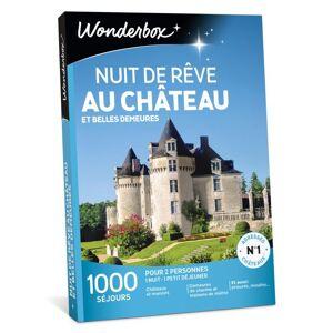 Wonderbox Coffret cadeau Wonderbox Nuit de rêve au château et belles demeures - Coffret cadeau - Publicité
