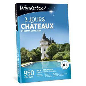 Wonderbox Coffret cadeau Wonderbox 3 jours châteaux et belles demeures - Coffret cadeau - Publicité