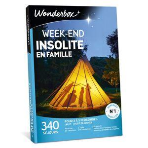 Wonderbox Coffret cadeau Wonderbox Week-end insolite en famille - Coffret cadeau - Publicité