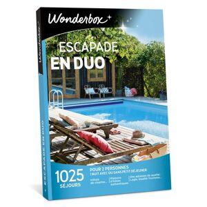 Wonderbox Coffret cadeau Wonderbox Escapade en duo - Coffret cadeau - Publicité