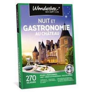 Wonderbox Coffret cadeau Wonderbox Nuit et gastronomie au château - Coffret cadeau - Publicité