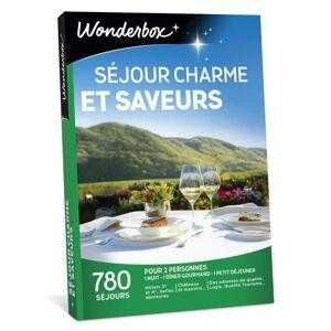Wonderbox Coffret cadeau Wonderbox Séjour charme et saveurs - Coffret cadeau - Publicité