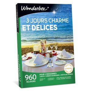 Wonderbox Coffret cadeau Wonderbox 3 jours charme et délices - Coffret cadeau - Publicité