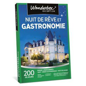 Wonderbox Coffret cadeau Wonderbox Nuit de rêve et gastronomie - Coffret cadeau - Publicité