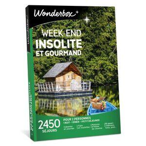 Wonderbox Coffret cadeau Wonderbox Week-end insolite et gourmand - Coffret cadeau - Publicité