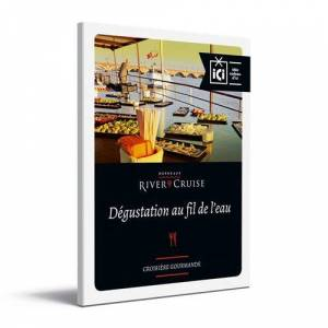 Bordeaux River Cruise Coffret Cadeau Bordeaux River Cruise Dégustation au Fil de l'Eau - Coffret cadeau - Publicité