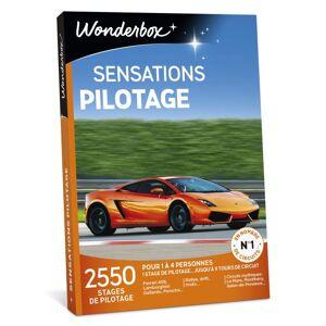 Wonderbox Coffret cadeau Wonderbox Sensations Pilotage - Coffret cadeau - Publicité