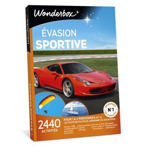 Wonderbox Coffret cadeau Wonderbox Evasion sportive - Coffret cadeau - Publicité