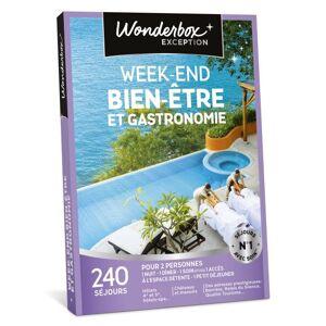 Wonderbox Coffret cadeau Wonderbox Week-end bien-être et gastronomie - Coffret cadeau - Publicité