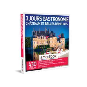 SmartBox Coffret cadeau Smartbox 3 jours gastronomie châteaux et belles demeures - Coffret cadeau - Publicité