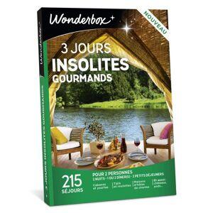 Wonderbox Coffret Cadeau Wonderbox 3 Jours Insolites Gourmands - Coffret cadeau - Publicité