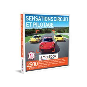 SmartBox Coffret cadeau Smartbox Sensations circuit et pilotage - Coffret cadeau - Publicité