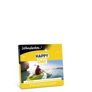 Wonderbox Coffret Cadeau Wonderbox Happy Day - Coffret cadeau - Publicité