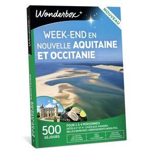 Wonderbox Coffret Cadeau Wondrebox Weekend en Nouvelle Aquitaine et Occitanie - Coffret cadeau - Publicité
