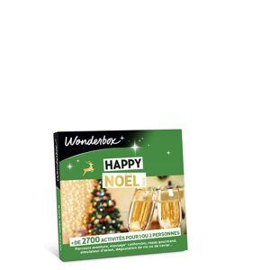 Wonderbox Coffret Cadeau Wonderbox Happy Noël Gold - Coffret cadeau - Publicité
