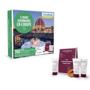 Wonderbox Coffret Cadeau Wonderbox 3 Jours Gourmands en Europe - Coffret cadeau - Publicité