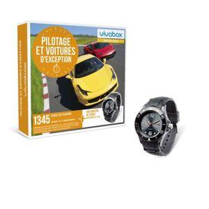 Wonderbox Coffret Cadeau Vivabox Pilotage et Voitures d'Exception - Coffret cadeau - Publicité