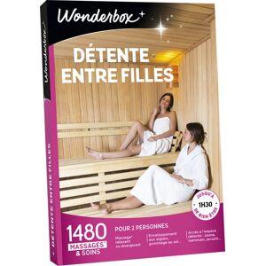 Wonderbox Coffret cadeau Wonderbox Détente entre Filles - Coffret cadeau - Publicité