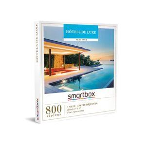SmartBox Coffret cadeau Smartbox Hotels de luxe - Coffret cadeau - Publicité