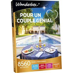 Wonderbox Coffret cadeau Wonderbox Pour un couple genial - Coffret cadeau - Publicité
