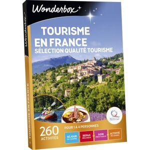 Wonderbox Coffret cadeau Wonderbox Tourisme En France - Sélection Tourisme - Coffret cadeau - Publicité