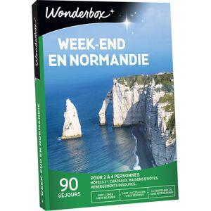 Wonderbox Coffret cadeau Wonderbox Week-end en Normandie - Coffret cadeau - Publicité