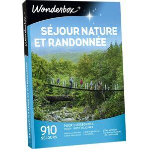 Wonderbox Coffret cadeau Wonderbox Sejour nature et randonnées - Coffret cadeau - Publicité