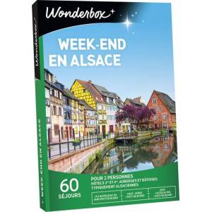 Wonderbox Coffret cadeau Wonderbox Week-end en Alsace - Coffret cadeau - Publicité