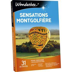 Wonderbox Coffret cadeau Wonderbox Sensations Montgolfière - Coffret cadeau - Publicité