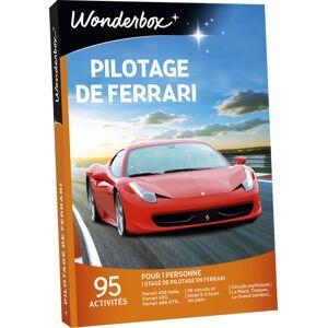 Wonderbox Coffret cadeau Wonderbox Pilotage de Ferrari - Coffret cadeau - Publicité