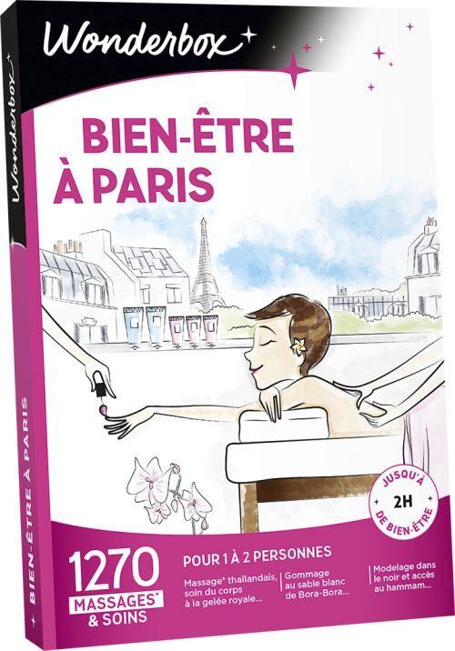 Wonderbox Coffret cadeau Wonderbox Bien-être à Paris - Coffret cadeau