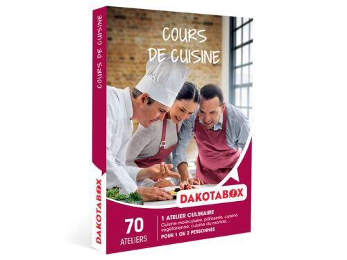 Dakota Box Coffret cadeau Dakotabox Cours de cuisine - Coffret cadeau