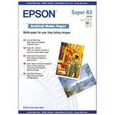 Epson Papier Photo A3+ Epson S041340 - Papier pour imprimante