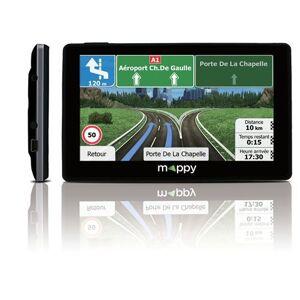 """Mappy GPS Mappy Ulti X585 Camp 5"""" Europe 44 pays Noir + Carte à vie - Publicité"""